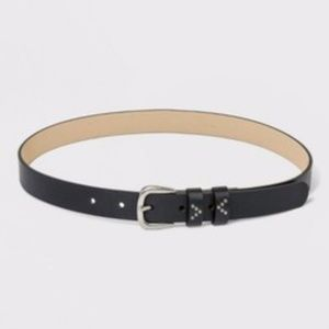 Women's Double Loop With Rivet Belt